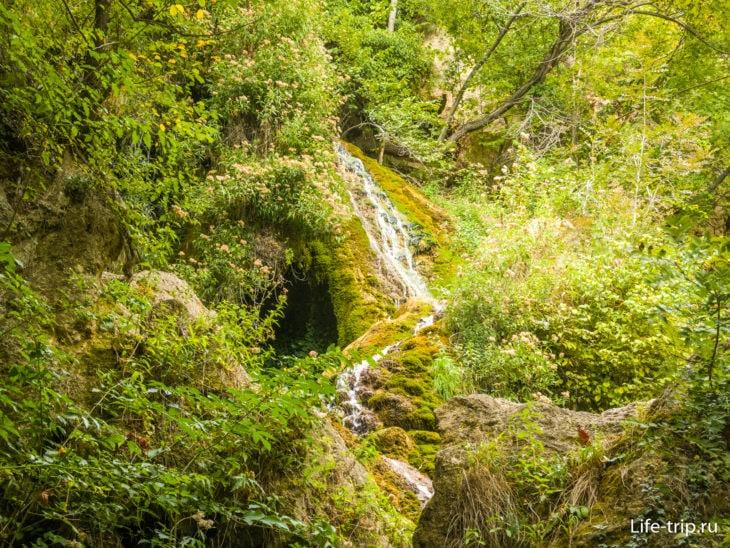 Водопад Су-Учхан в Крыму