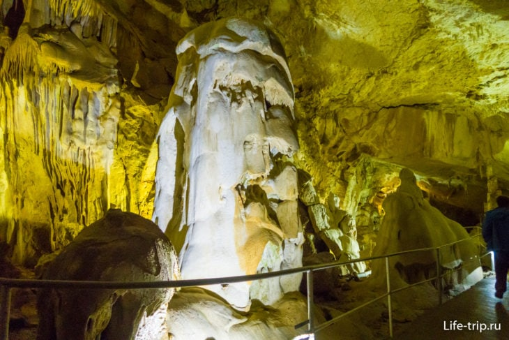 Мраморная пещера в Крыму - цена, как добраться