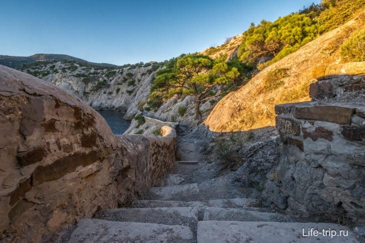 Тропа Голицына в Крыму – маршрут, история
