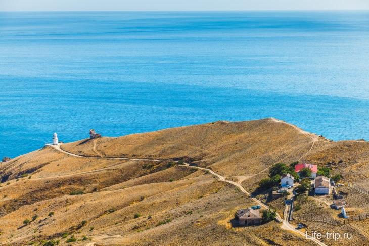 Мыс Меганом в Крыму