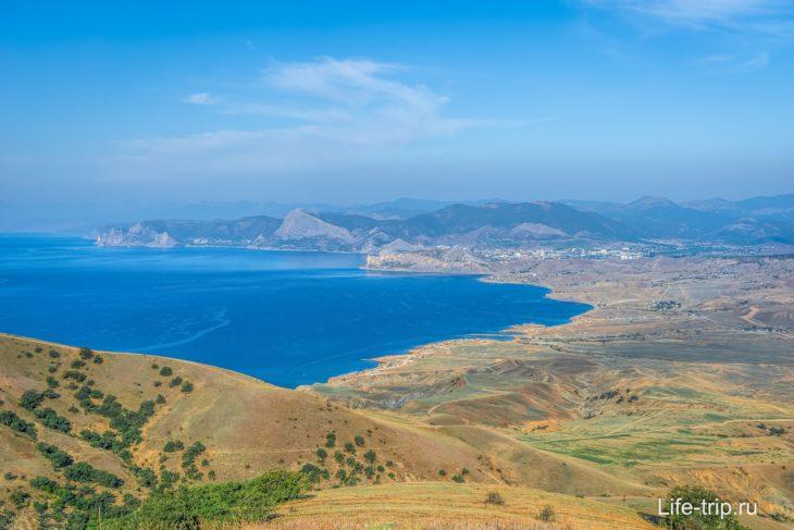 Мыс Меганом в Крыму – фото, карта, как добраться