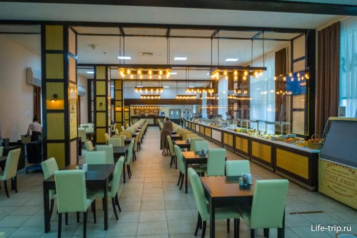 Обеденный зал кафе Aristov