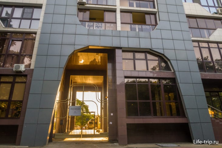 АК ROSE DEL MARE в Сочи находится в жилом доме