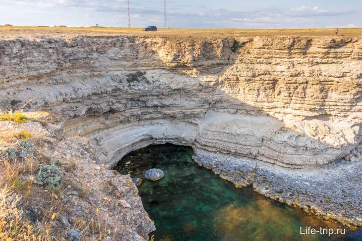 Мыс Тарханкут в Крыму – фото, карта, как добраться