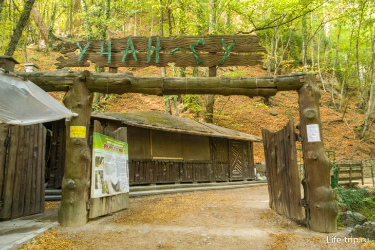 Водопад Учан-Су – как добраться и где находится