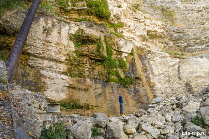 Здесь должен быть водопад Учан-Су в Крыму