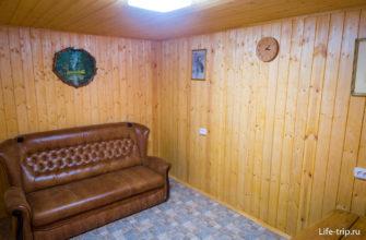 Отдельная комната отдыха