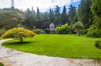 Пейзажный сад и ротонда