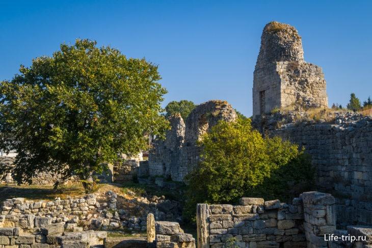 Башня IV городской стены Херсонеса