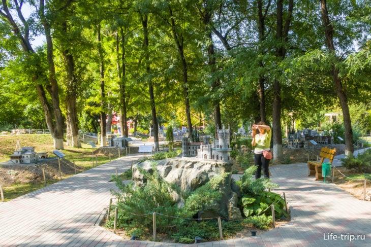 Парк миниатюр в Бахчисарае - прекрасный и ужасный