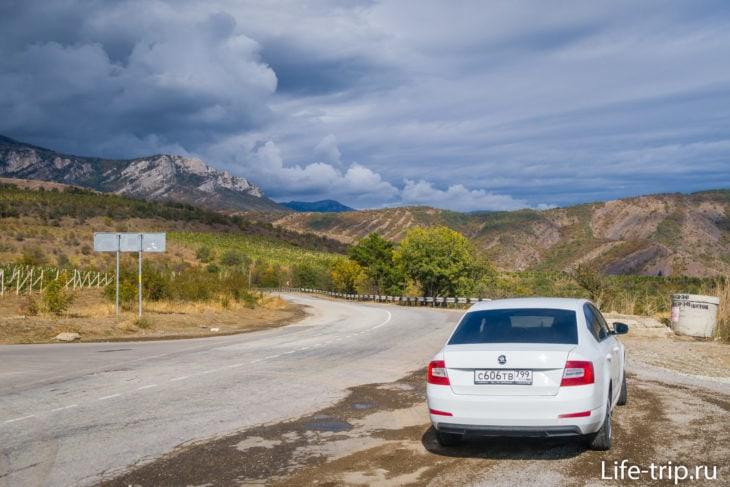 Аренда машины в Крыму