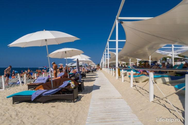 Пляж Redisson Collection