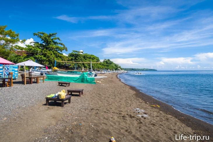 Пляж Амед на Бали