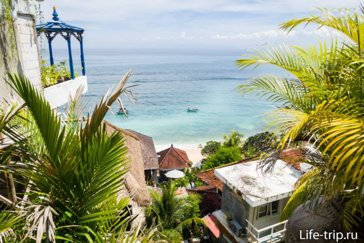 Пляж Бингин на Бали