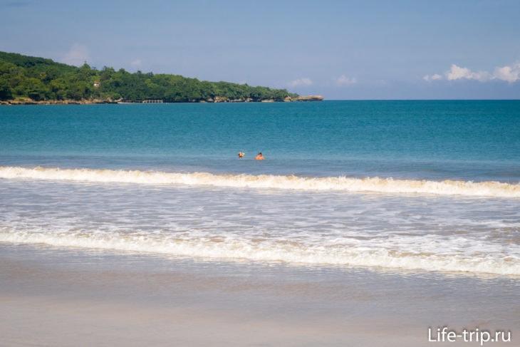 Пляж Джимбаран (Jimbaran Beach) - Бали для детей
