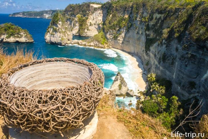 Jogglo Viewpoint Penida - селфи-пойнт и смотровая площадка