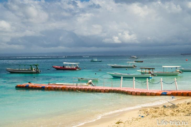 Пристань паромов Pelabuhan Jungutbatu Nusa Lembongan