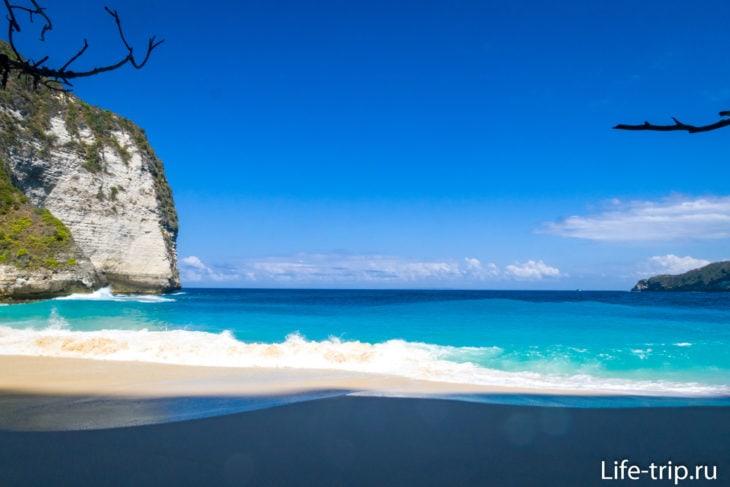 Kelingking Beach - главная достопримечательность Нуса Пенида