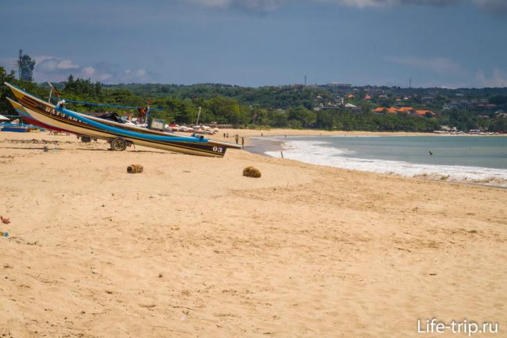 Пляж Кдонганан (Kedonganan Beach) - белый песок на Бали