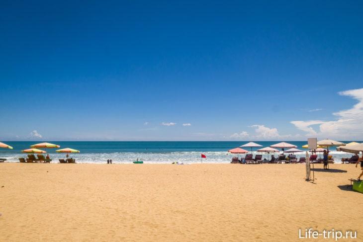 Пляж Легиан (Legian Beach) - золотая середина Куты