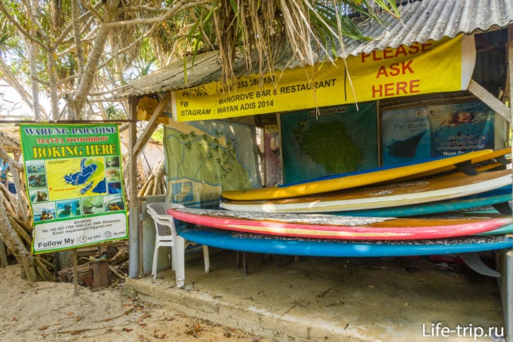 Mangrove Point - мангровые заросли на Лембонгане