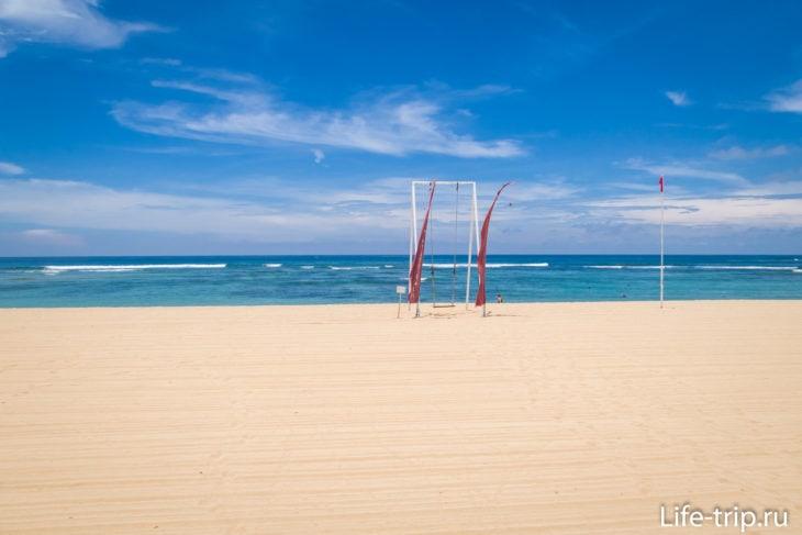 Пляж Менгиат Нуса Дуа на Бали