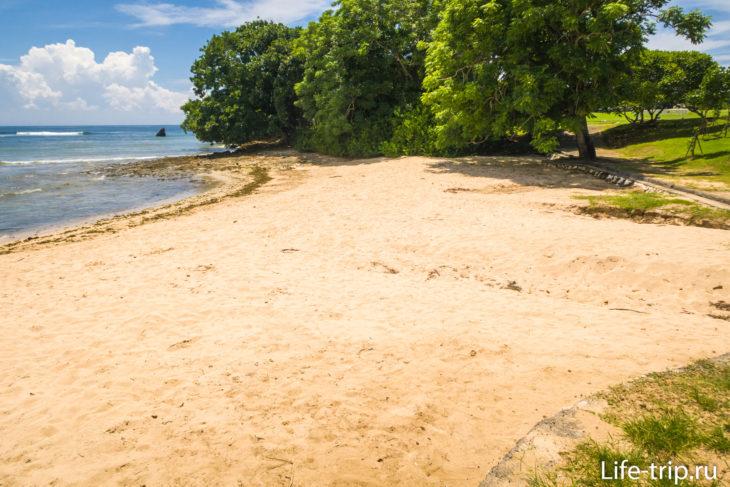 Пляж Нуса Дуа (Nusa Dua Beach) - дорогой курорт