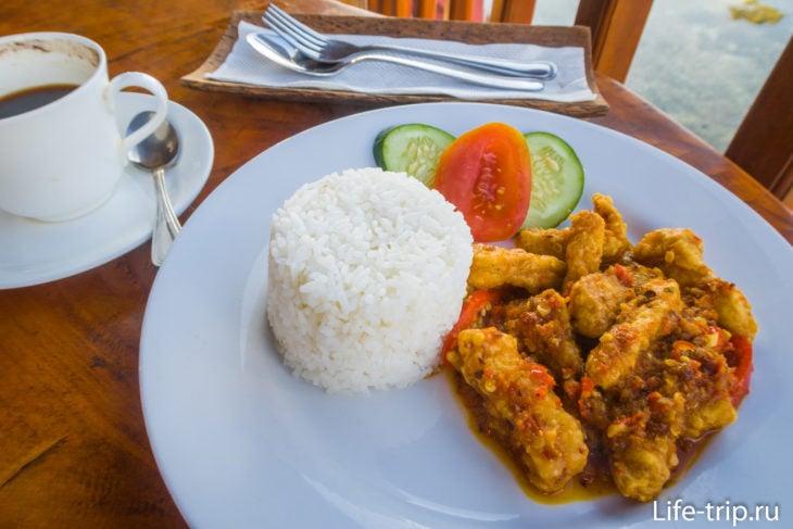 Ogix Warung - видовой ресторан с балийской кухней