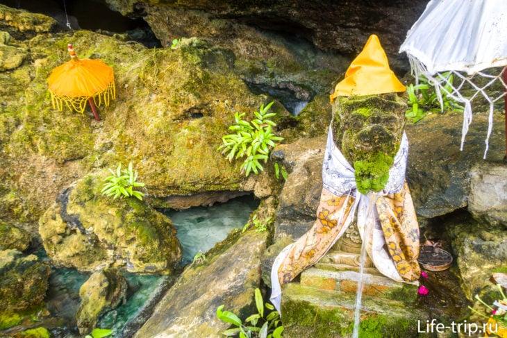 Гуянган (Guyangan Waterfall) - вода, падающая в океан