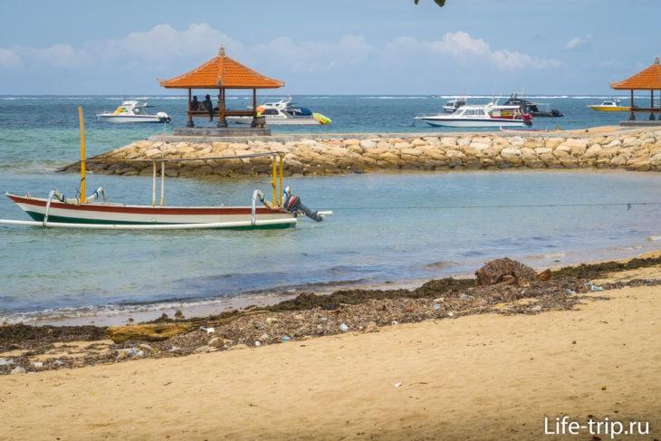 Пляж Санур (Sanur Beach) - городской пляж Денпасара