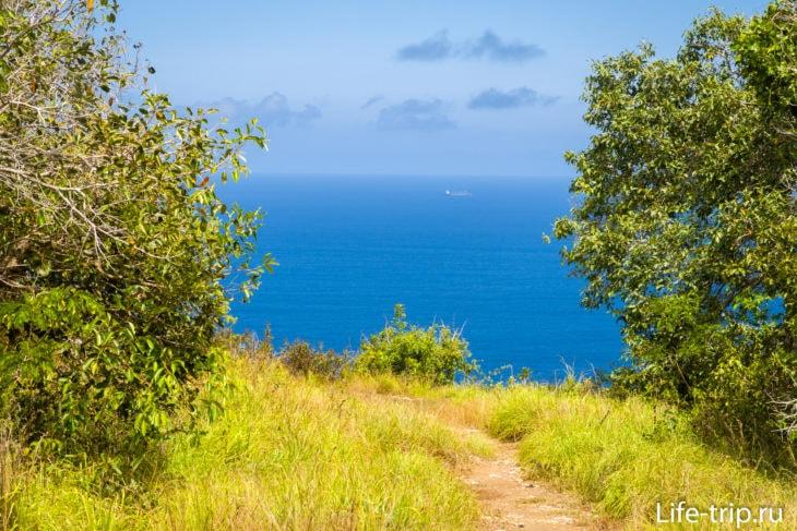 Saren Cliff Point - качели на краю земли