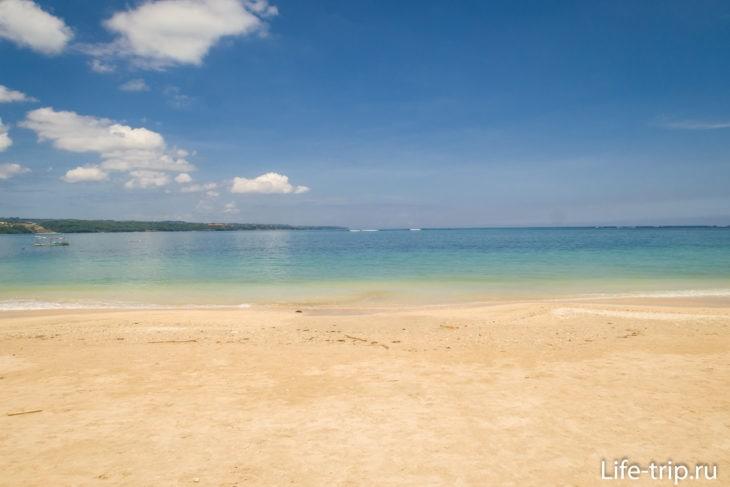 Фото сделаны после недавнего отлива и утром, поэтому песок выглядит не очень