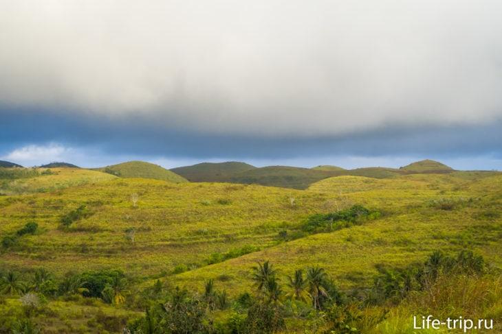 Холмы Телепузиков на острове Пенида