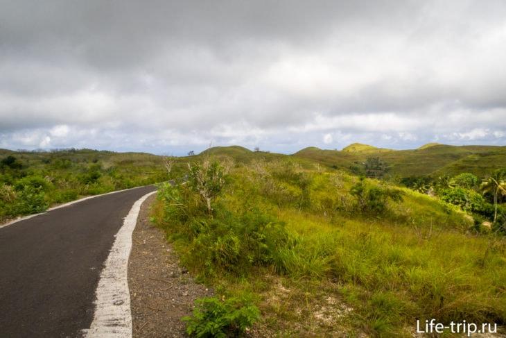 Холмы Телепузиков (Teletubbie's Hills Penida) на Нуса Пенида