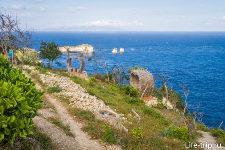 Смотровая Thousand Islands и домики Tree-House Nusa Penida