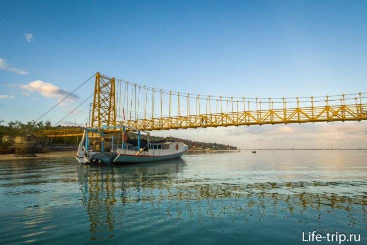 Желтый Мост на Лембонгане, утренние фото