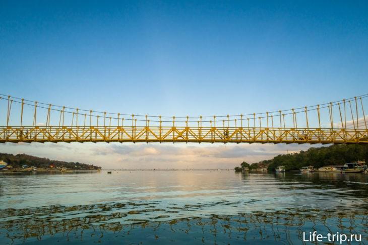 Желтый Мост между Лембонганом и Ченинганом