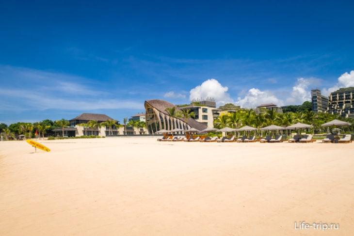 Пляж Саванган на Бали, Букит