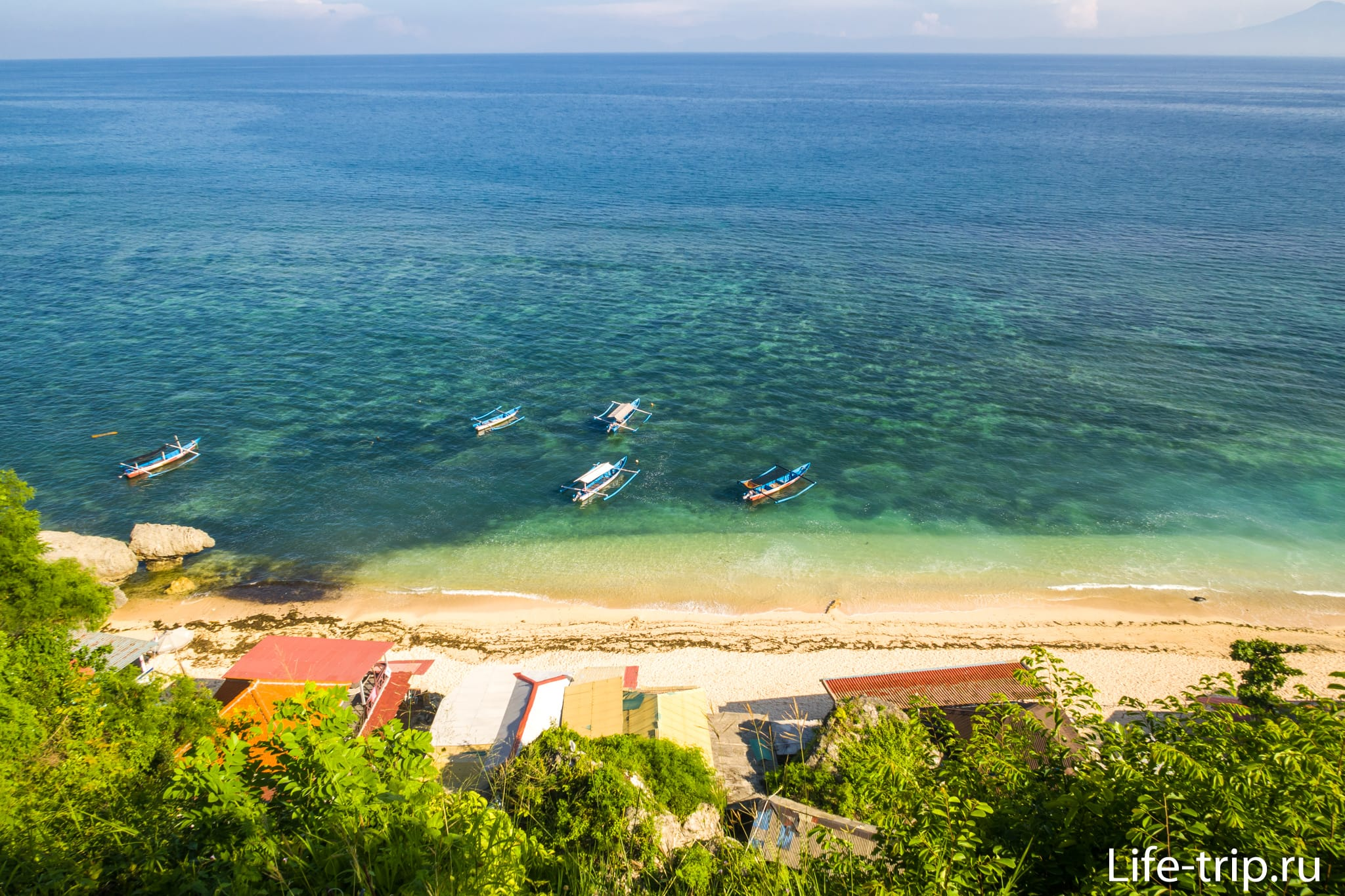 Пляж Томас на Бали