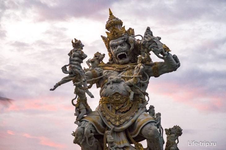 Кумбакарна, один из героев Рамаяны