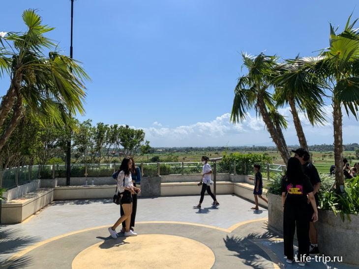 Смотровая площадка в Зоопарке Бали