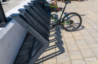 Слоты для парковки велосипедов