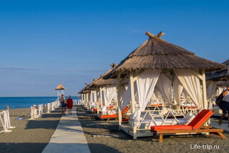 Пляж Жемчужина Сочи (в Адлере)