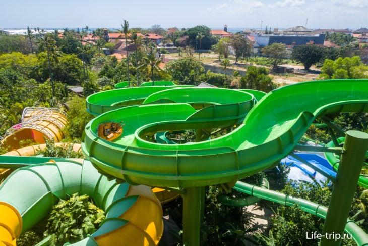 Waterbom - лучший аквапарк на Бали