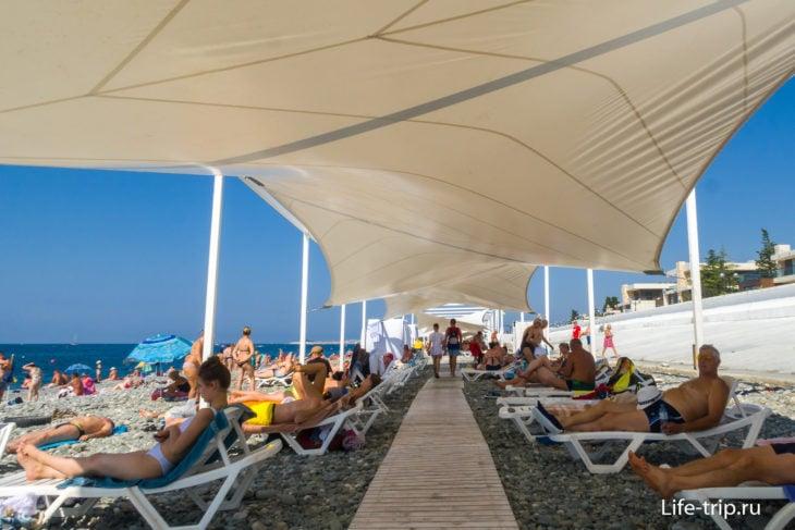 Арфа - один из лучших пляжей Сириуса