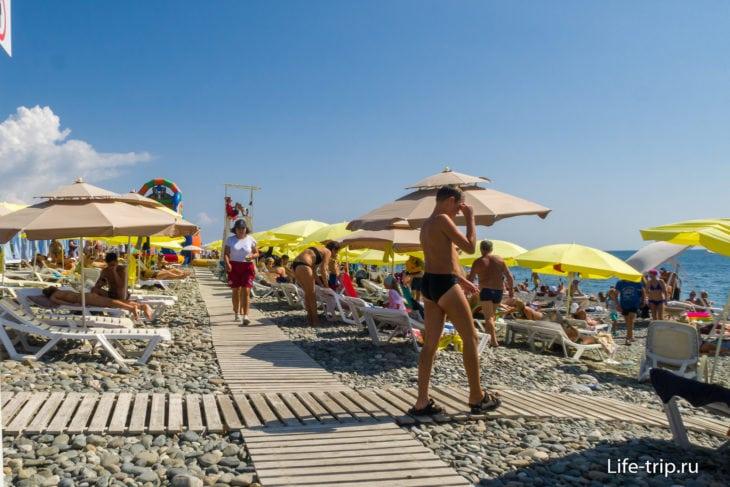 Богатырь - бывший пляж Горки Город