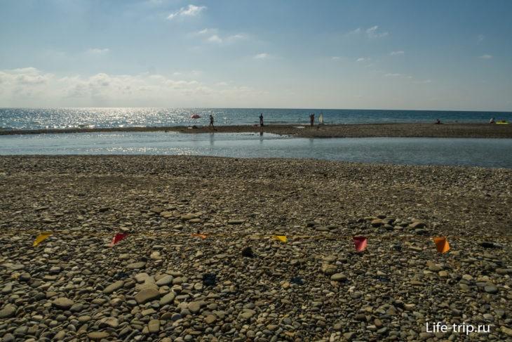 Сочифорния - пляж, где есть всё, кроме моря
