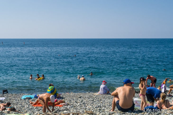 Пляж Sport Inn