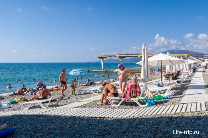 Пляж СССР -  лидер тройки скромных пляжей