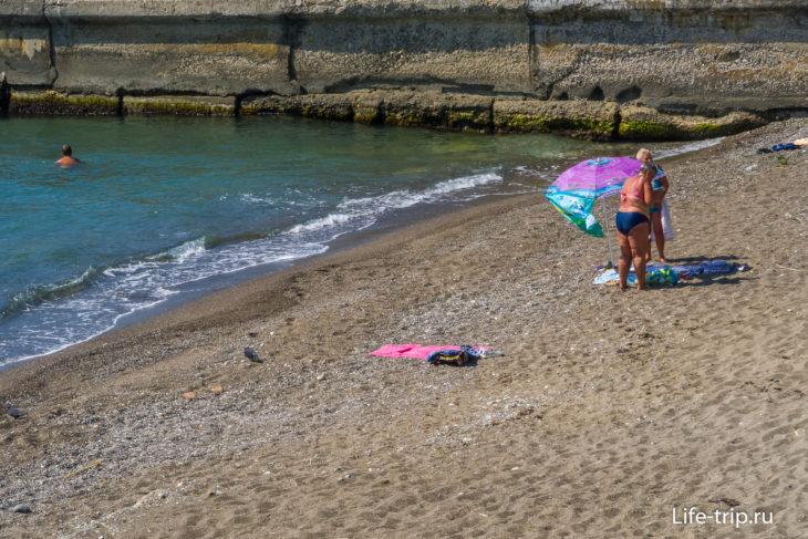 Аврора - два пляжа в Хосте